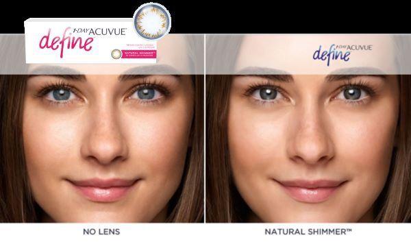 #Acuvue #Define Natural Shimmer  http://www.wsoczewkach.pl/acuvue_1day_define_30.html