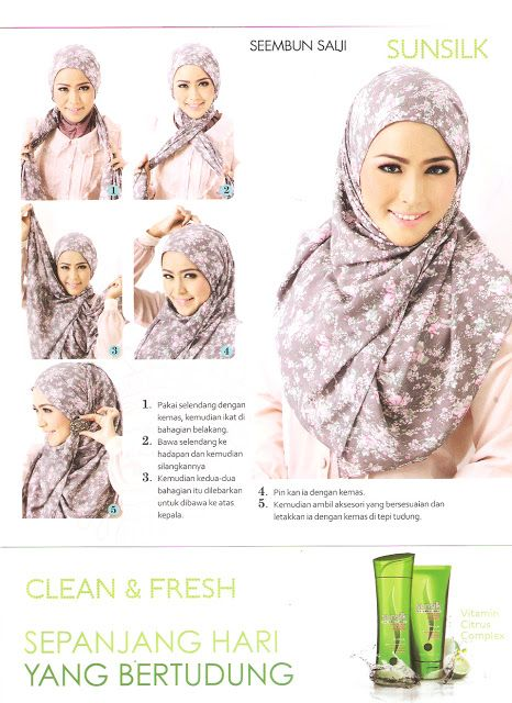 Criss Cross Tying Style | Requires The Back Pin | Hijab | Anggun Zara: Tutorial Zenia