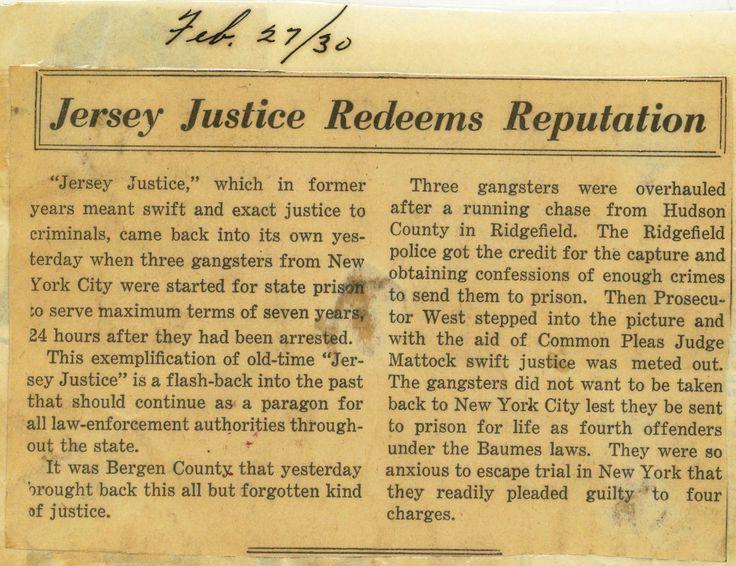 3/2/15 - Jersey Justice Redeems Reputation