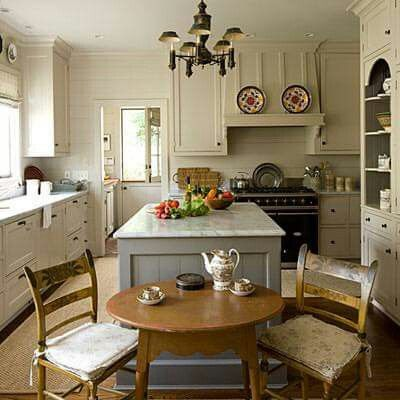 this kitchen is so warm which i love no stark white cabinets not sure about the gray island on kitchen cabinets not white id=11576