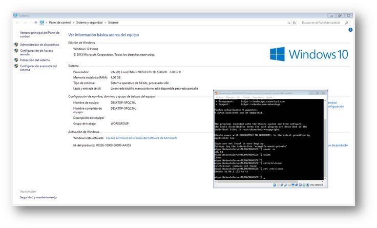 Ubuntu Server 16.04 sobre Windows 10 con VirtualBox. Aprendiendo sobre servidores virtualizados.