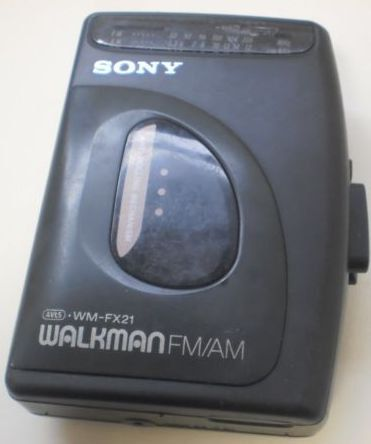 Sony Walkman WMFX21 AM/FM Stereo Cassette by ShopHereVintage, $30.00. The Walkman that I had!