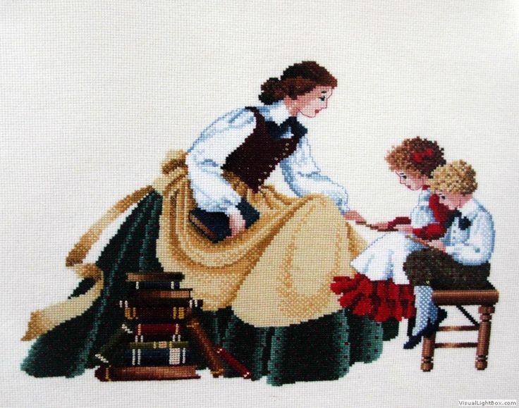Maestra con niños (Scarlett's Creaciones)