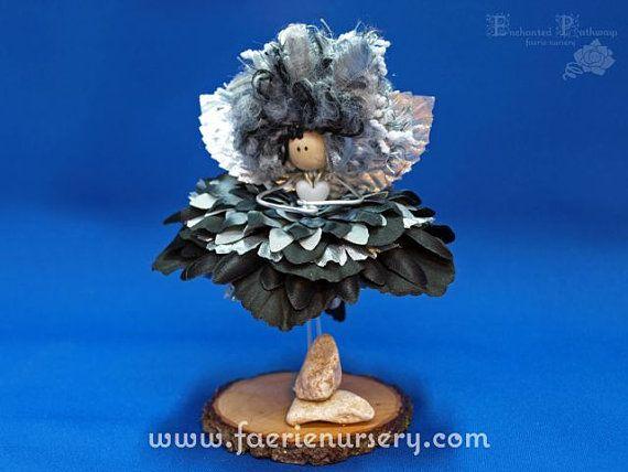 The Northern Faeries  Petra  OOAK Fairy by FaerieNursery on Etsy, $35.00