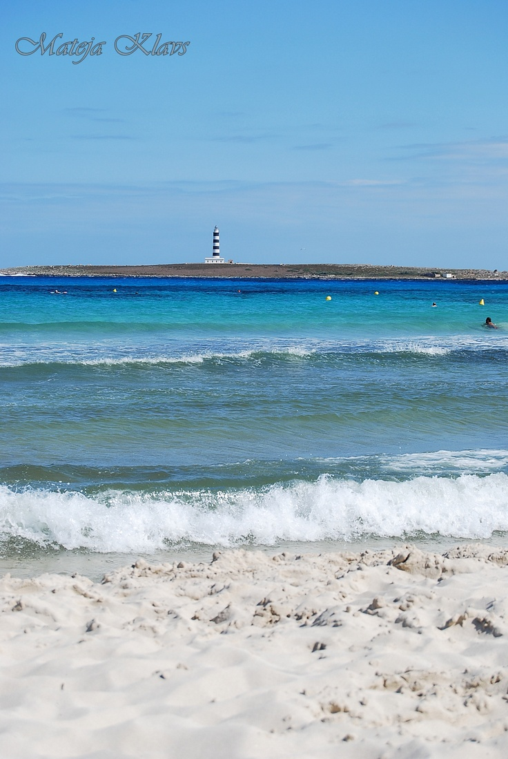 Punta Prima, Menorca...here in less than a month