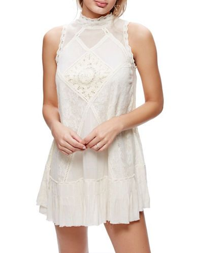 Women | New Arrivals  | Angel Crochet and Lace Dress | Hudson's Bay
