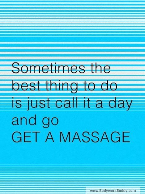 Massage can help with pretty much anything :)
