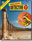 World History Detective® Book 1 - (can get a free preview on the website).  This is for 6th or 7th grade