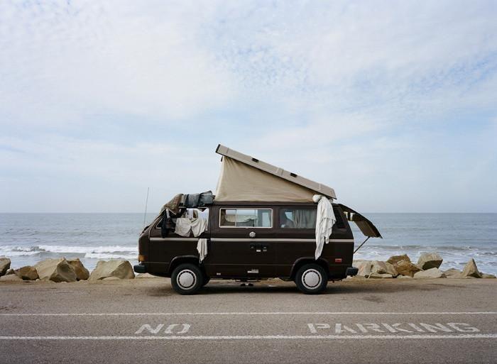 Casa è dove parcheggi il furgoncino