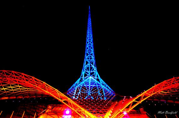 Check out this item in my Etsy shop https://www.etsy.com/listing/240213718/60-x-90-melbourne-arts-centre-spire