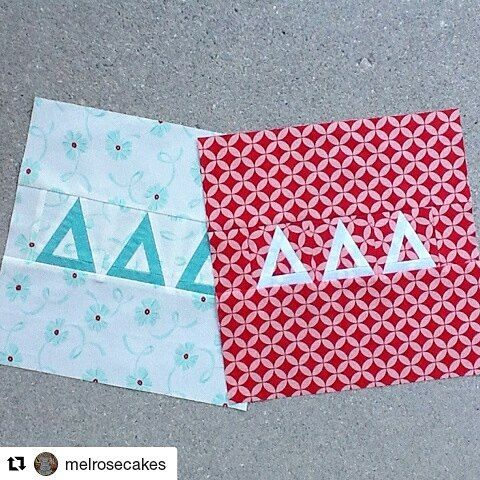 Loving these aqua and red blocks!!! #Repost @melrosecakes ・・・ Block 10 This is Inspired by Canada by Leanne from She Can Quilt. This block reminds me of my favorite view from the Rundle Lounge in the Banff Springs Hotel. I am now caught up on my blocks. WooHoo  @sewsistersquiltshop  @shecanquilt #thecanadiansampler