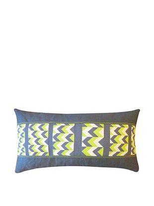 83% OFF Sheer Throw Pillow, Green