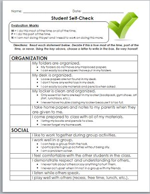 Best 25+ Student self evaluation ideas on Pinterest Student led - group activity evaluation template