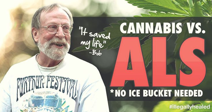 "Keeping ALS at Bay with Cannabis ""Amyotrophic lateral sclerosis (ALS) is one of the most degenerative motor neuron diseases in existence. Most people with ALS die within three to five years after symptom onset, and the disease often progresses very rapidly. Bob Strider wants others to know this prognosis is not written in stone, and cannabis can be a truly effective option for many ALS patients."""