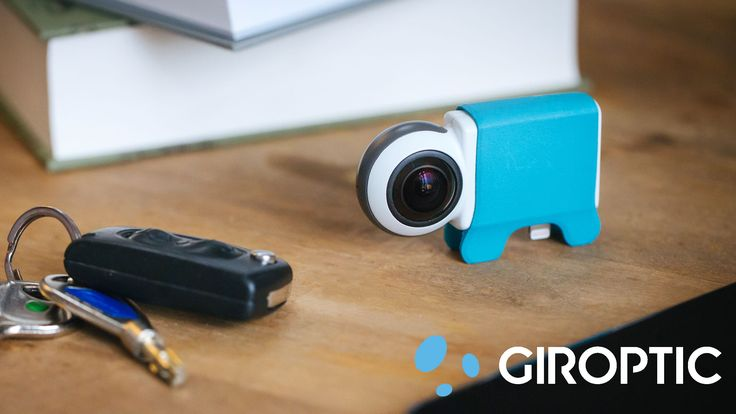 Giroptic - La startup qui voit la vie en 360° #startup #360 #frenchtech