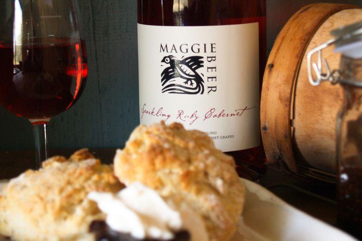 Sparkling Ruby Cabernet Scones - Maggie Beer