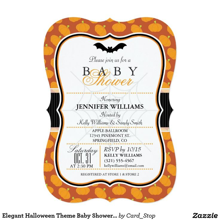 24 best Halloween Baby Shower images on Pinterest | Baby showers ...