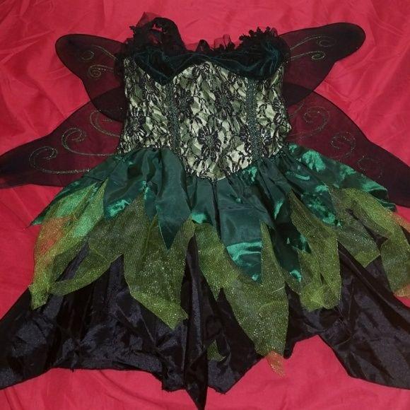 "LIP SERVICE Costume Vault ""Absinthe Fairy"" short dress #83-247"