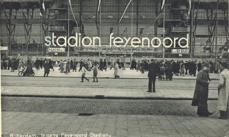 De Kuip Rotterdam (jaartal: 1950 tot 1960) - Foto's SERC