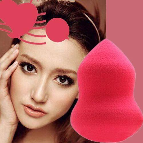 Zufällig New Kürbisform Verfassungs Kosmetik Stiftung Sponge Blender Blending Puff Flawless Powder Glatte Beauty