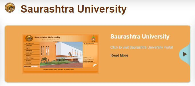 Saurashtra University Result 2018-19 (March-April), FY SY TY