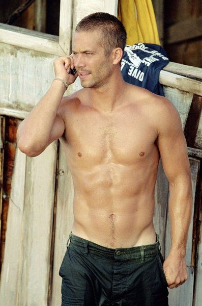 With a body like that, I would highjack trucks with him any day like he does in The Fast and The Furious!!