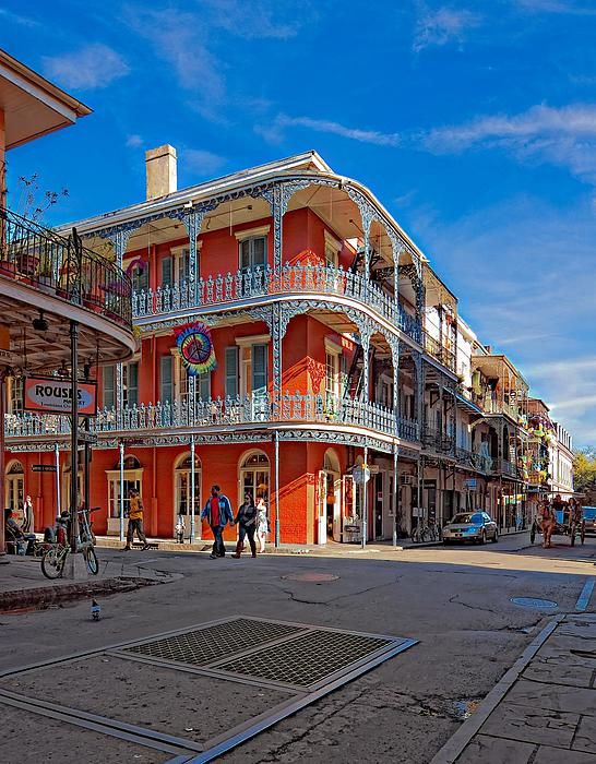 St. Peter & Royal in the French Quarter, New Orleans