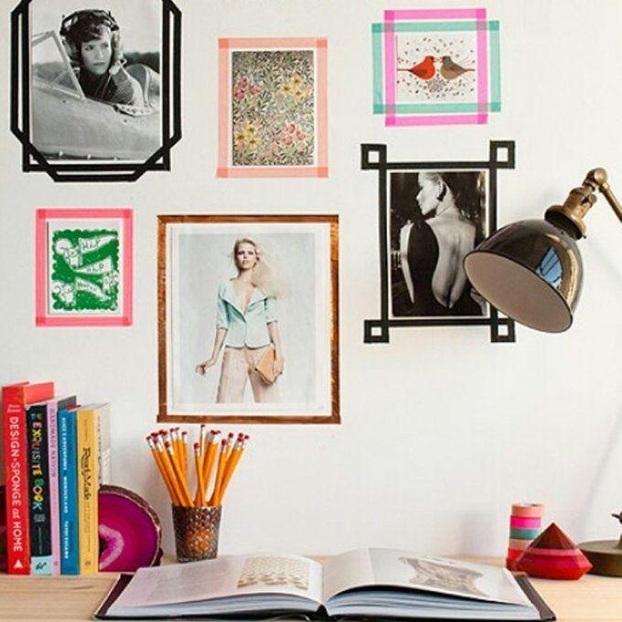 Tendance du moment, ou plutôt tendance qui dure, le Masking Tape a tout d'un élément de décoration indispensable. Pouvant s'adapter à tous les styles et à toutes les ambiances grâce à son large choix de couleurs et de motifs, du liberty aux pois en passant par le rose fluo ou les teintes pastel, le Masking Tape peut tout faire! Découvrez 15 inspirations dénichées sur Pinterest