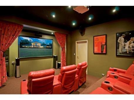 Home theatre - just add popcorn!