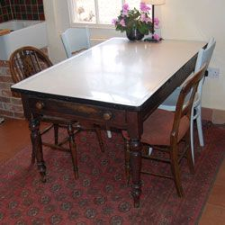 17 Best Images About Vintage Farmhouse Tables On Pinterest Miss Mustard Seeds Table And