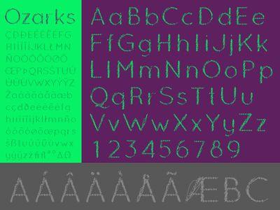 Download Ozarks Font