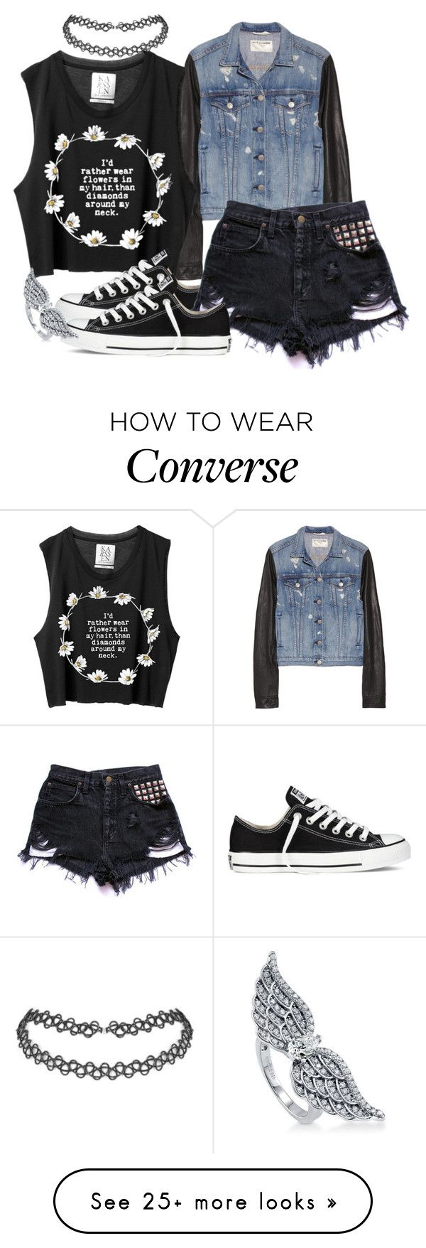 """""""Summer in December"""" by jenn265 on Polyvore featuring rag & bone/JEAN, Converse and BERRICLE"""