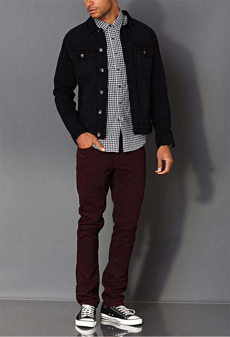 Classic Fit Checkered Shirt   FOREVER 21 MEN