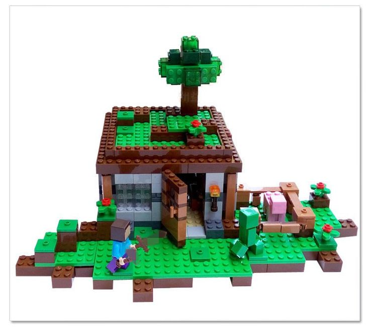 Minecraft Treehouse future ecological design in the making