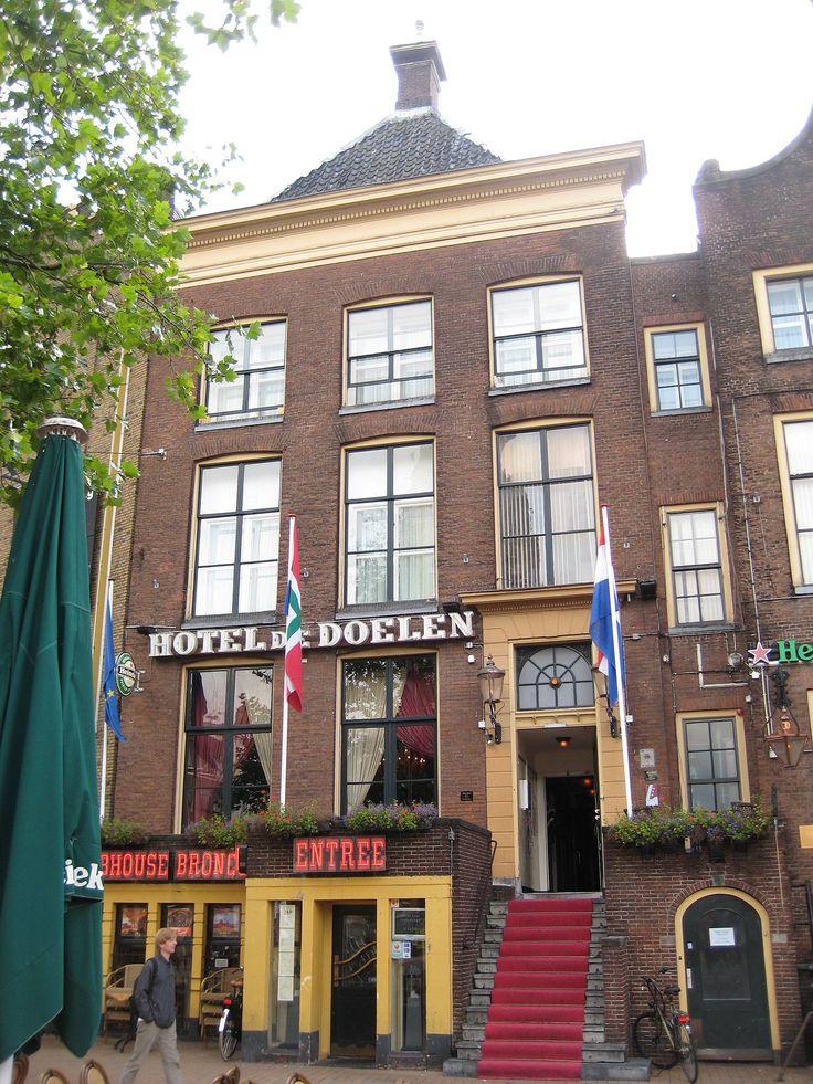 Hotel De Doelen. Grote Markt. Groningen. The Netherlands.