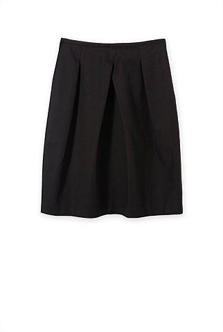 Midi Pleated Skirt - Trenery