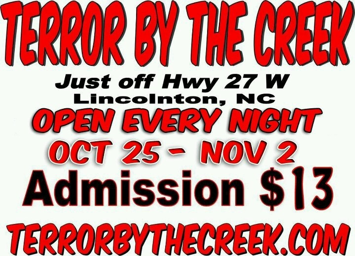 terror by the creek haunted attraction halloween pinterest the ojays and by - Halloween Haunted Houses Charlotte Nc