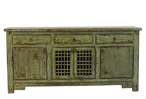 Amity 4-Door Sideboard, Green    $1,499.00