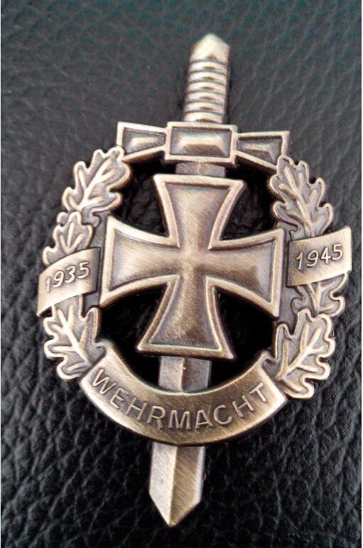 Günstige ww2 deutsch armee wehrmacht medaille plakette, Kaufe Qualität Metall Handwerk direkt vom China-Lieferanten: ww2 deutsch armee wehrmacht abzeichenGröße: 50*33mm