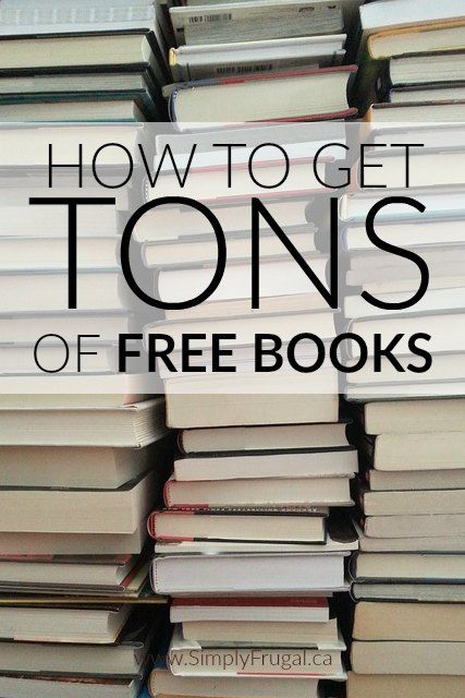 This article is great for avid readers like me! Here's how to get TONS of Free Books!
