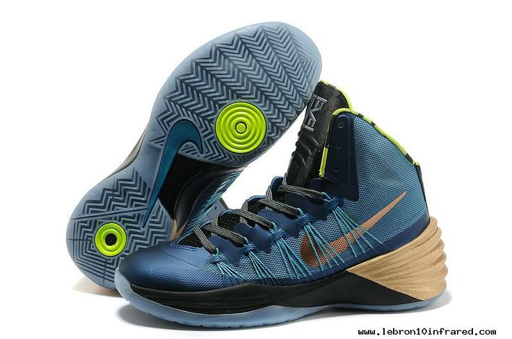 Metallic Blue Women'S 2013 Hyperdunk Freestyle Xdr