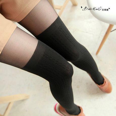D016 полный 39 доставка каннабис шить вертикальная сетка была тонкие носки чулки носки американо-корейских дна носки - Taobao
