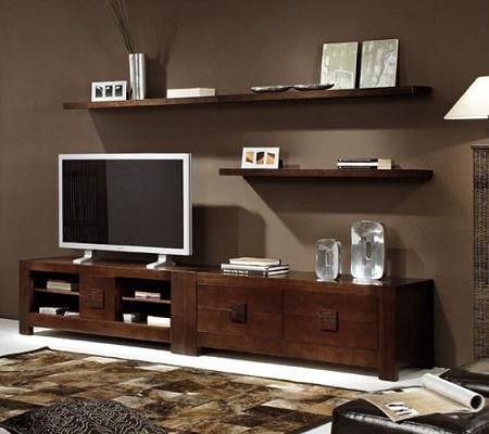 17 best ideas about muebles para televisores on pinterest - Muebles de televisor ...