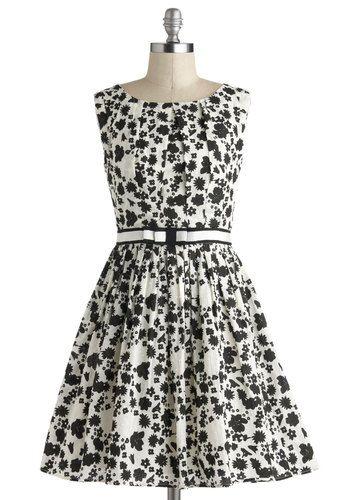 101 Carnations Dress, #ModCloth