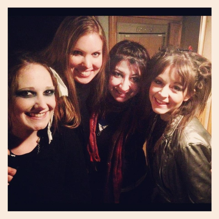 Moon trance with Joanna (Makeup artist), Abi & #LindseyStirling