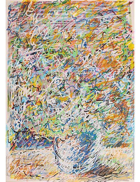 Flower Pictures, 1996–97, Dieter Roth. Exhibited by Zucker Art Books.