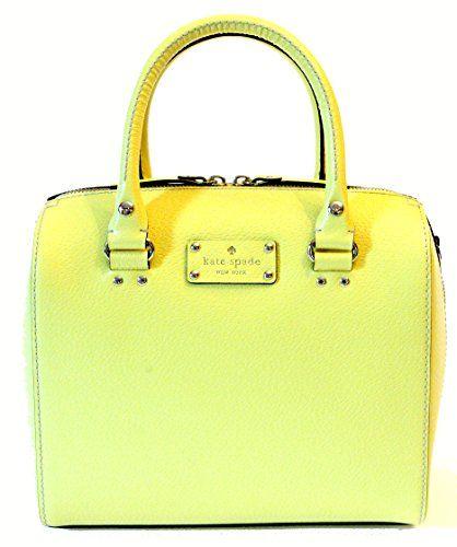 Kate Spade Wellesley Alessa Lemoncello Handbag WKRU 1743
