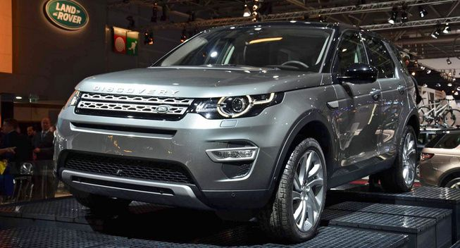 Discovery Sport a ajuns in showroom-urile Land Rover din Romania !