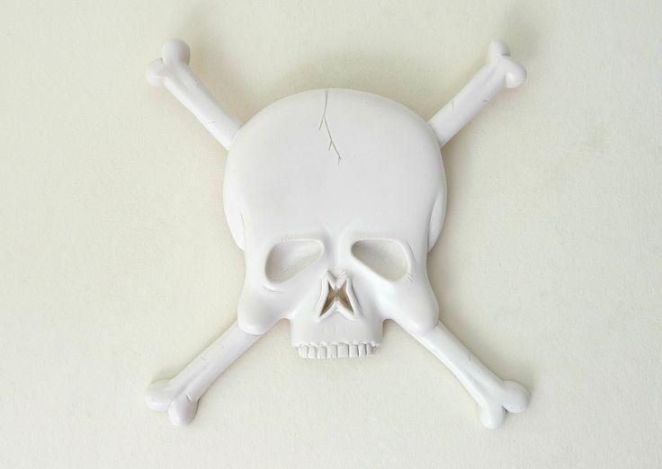 Solid colour Skull - designer Plaques..!