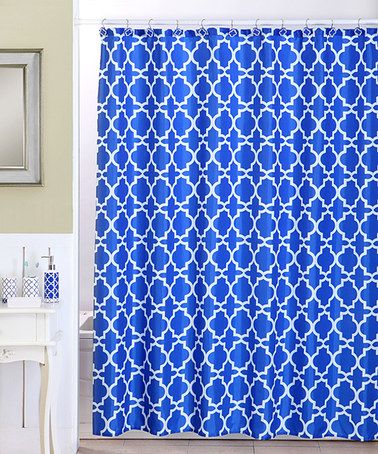 Look at this #zulilyfind! Navy Lattice 18-Piece Bath Set #zulilyfinds